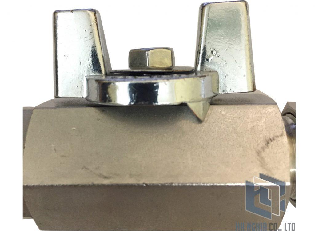 Van khóa khí inox phi 12 (DD - W10 - 7 - 1 -X - G - L- S)
